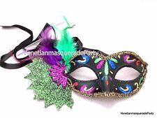 Leaves feather Costume Party Dress up Girls Mardi Gras Masquerade Ball Prom Mask