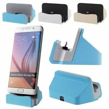 Desktop Charger Docking Station Sync Charge Stand Cradle for Samsung HTC LG