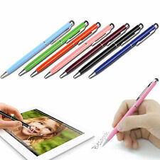 2 in1 Capacitive Touch Screen Stylus/Ball Point Pen for iPad iPhone iPod GOOD