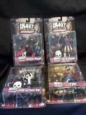 HEAVY METAL FAKK2 GAME SERIES SET OF 4 FIGURES JULIE ON PLANET SHIP NEW N2 TOYS