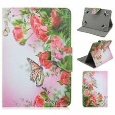 "New Flowers Butterfly PU Leather Cover case For Universal 7""-7.9"" inch Tablet PC"