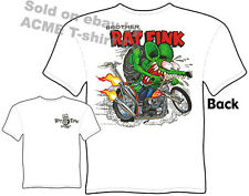 Ratfink T Shirts Big Daddy Clothing Ed Roth T Shirts Brother Rat Fink Chopper