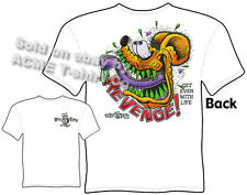 Rat Fink Shirts Big Daddy Clothing Ed Roth T Shirts Revenge Apparel Get Even Tee