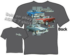 Chevelle T Shirt Chevy T Shirt Muscle Car Apparel 1964 1967 1971 64 67 71 Malibu