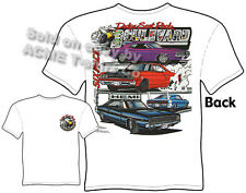 Dodge T Shirt Mopar Clothing Hemi Chrysler Apparel 1967 1968 1969 1970 1971 1972