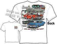 Chevelle T Shirt Chevy Shirt Chevrolet Clothing Muscle Car 1967 1968 1969 1970