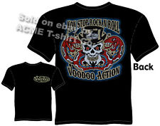 Tattoo T Shirt Rock N Roll Voodoo Action Kustom Kulture Tee Sz M L XL 2XL 3XL