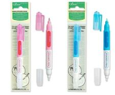 Clover Chacopen Fabric Pen Marker Pink or Blue Sew Applique SELECT YOUR COLOR!