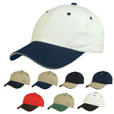 Light Weight Brushed Sandwich Cotton Baseball Hook and Loop Closure Hats Caps