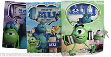 -CLEARANCE- Monsters University :Lockable Diary Box OR Notepad: ASSORTED COLOURS