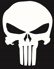 Punisher Skull Decal Funny Car Vinyl Sticker Euro JDM Racing Window Decal Turbo