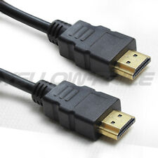 3FT 6FT HDMI 1.4 3D Cable High Speed + Ethernet PS4 bluray 1080p DVD Full HD 3D