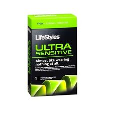Lifestyles Ultra Sensitive Condoms Thin Strong  (Single Pack)