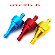 Aluminum Gas Fuel Filter For Motorcycle Pit Dirt Bike ATV Quad Gas Push Bicycle
