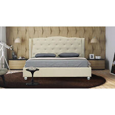 Active Leisure Beds NEW New Winston French Provincial Wing Fabric Bed Frame