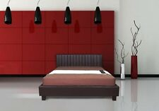 NEW Italian Design New Dior PU Leather Wooden Bed Frame