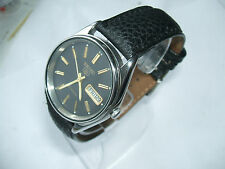 SEIKO VINTAGE MENS AUTOMATIC WATCH DAY AND DATE IMMACULATE