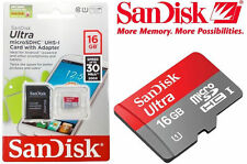 SanDisk 64gb, 32gb,16gb Ultra Micro SDHC & SDXC TF Memory Card with Adapter(NEW)