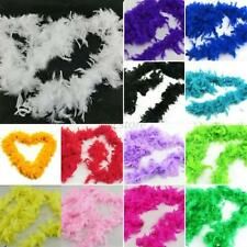 Feather Boa Fancy Dress Party Night Burlesque Costume Fluffy Boas 2m