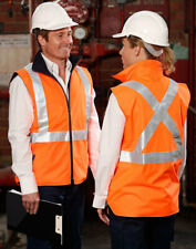 5 of  AIW SW37; High Visibility Reversible Safety Vest; 100% Polyester w Fleece