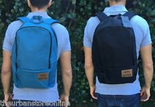 Mossimo Basic Nylon Backpack Black or Dive Blue BNWT 30% Off