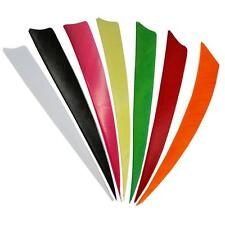 """50x Right Wing 4"""" Shield Natural Turkey Archery Fletching Arrow Feather Part DIY"""