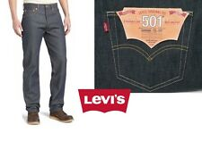 Levis 501 Verde Rigid Button Fly Shrink to Fit Jeans  Straight Leg  32 35 36 38