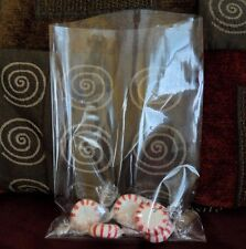 Crystal Clear Poly Bakery Cello Candy Bag Cookie Flat Polypropylene Bags 1.5MIL