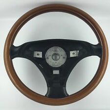 GENUINE OEM VW NARDI WOOD STEERING WHEEL. GOLF MK4, PASSAT B5, BORA,TDI,GTI, ETC