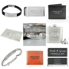 Personalised Classic Male Gifts for Him Men Dads Fathers Day Birthday Engraved