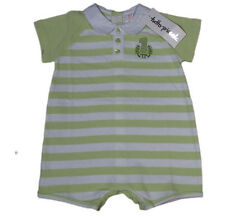 "TUTTO PICCOLO ""Polo Summer Sommer"" Baby romper-suit one-piece (green/white) NEW"