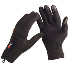 Waterproof Outdoor Cycling Ski Winter Cold Weather Gloves Full Finger Glove
