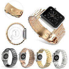 Luxxury Stainless Steel Band Strap Bracelet For Apple Watch iWatch 38/42mm