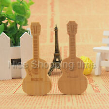 USB 2.0 32GB 16GB 8GB 4GB Wood Bamboo Guitar Model Memory Stick Flash pen Drive