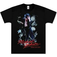 MICHAEL JACKSON SMOKE KING OF POP BRAND NEW OFFICIALLY LICENSED UNISEX T-SHIRT