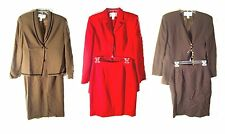 Size 6-16 - Jones NY Wool & Polyester Winter Business Skirt Suits & Separates