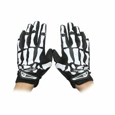 Cycling Motorcycle Racing Skeleton Skull Bone Mechanic Sports Warm Gloves M - XL
