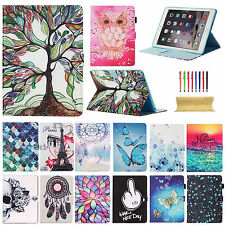 Vintage Pattern Wallet Leather Smart Stand Case Cover For iPad 2 3 4/mini Air 2