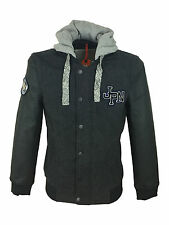Superdry Comet Mens Bomber Jacket Coat in Charcoal Grey Size 2XL