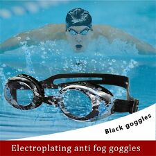 Waterproof Chrome Plated Swimming Mariner Goggles Anti Fog UV Glasses Adults QV