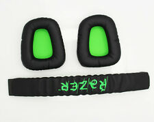 Replacement Earpad Ear Pads Headband Cushion For Razer Electra Gaming PC Headset