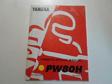 1996 Yamaha PW80H Owners Service Manual FACTORY OEM BOOK 96