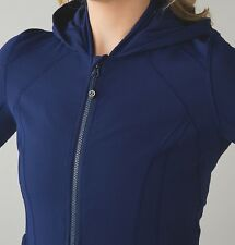 NWT Lululemon Daily Practice Jacket Hero Blue 4 6 8 10 12 Forme Define