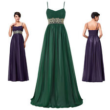 Cheap Bridesmaid Prom Dress Formal Evening Party Cocktail Long Maxi Ball Gown