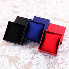 Present Gift Boxes Case For Bangle Jewelry Ring Earrings Wrist Watch Boxes OE