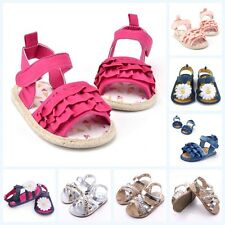 0-12 Months Newborn Baby Shoes Boys Girls Kids Soft Sandals Toddler Infant Shoes