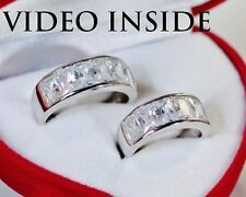 SJWA*His&Hers 2Wedding Bands Engagement & Wedding Engagement/Wedding Ring Sets