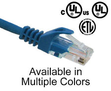 5x RJ45 Patch Cord 1 FT CAT5E Snagless Boot Network Ethernet Cable PC5P-