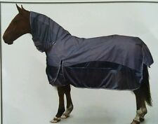 Gallop 2 in 1 Water Proof Turnout and Fly Rug for Horse or Pony Free Fly Mask
