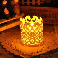 50pcs Romantic Baskets Tea Light Candle Lampshade Holders Wedding Birthday Party
